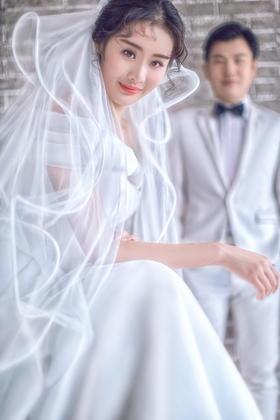 时尚城市旅拍婚纱照