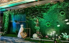 卓凡婚典西式室内草坪星光婚礼案例