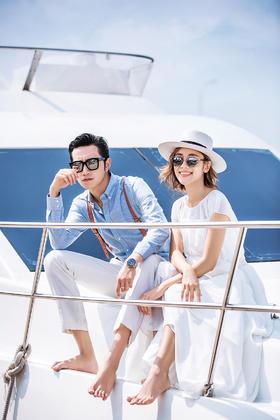 【海瑟薇婚纱摄影】游艇婚纱照系列