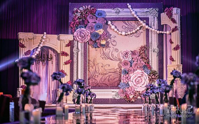 婚礼kt设计背景素材