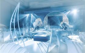 【好缘婚尚】珊瑚与海私人订制主题婚礼蓝色系