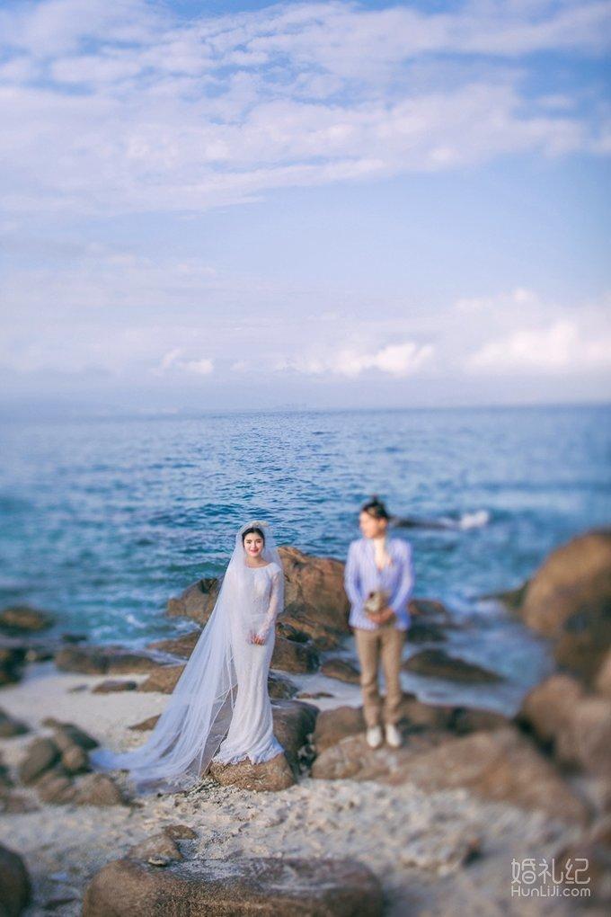 【三亚海边婚纱照】-客片欣赏