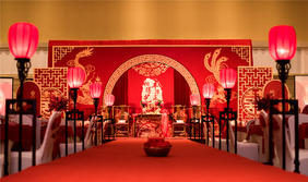 广播大厦中式婚礼