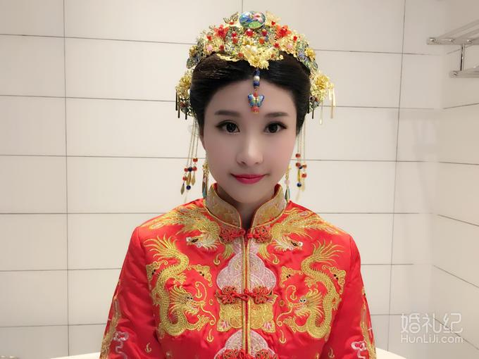 深圳羽尚新娘早妆化妆套餐