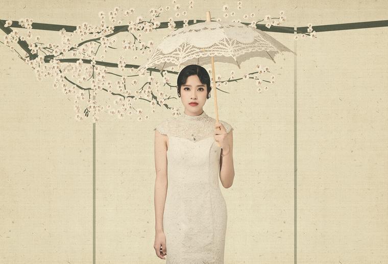 你好幸福主题婚纱照&丹青卷画