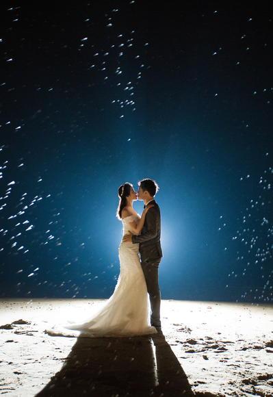 【每日唯美婚纱客片】我把全世界的温暖送给你