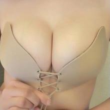 拉拉女神lb聚波波天使聚波神器拉b内衣隐形文胸胸贴硅胶婚纱聚