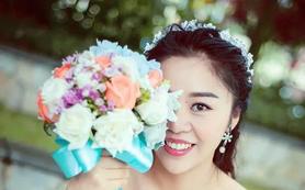 露薇美妆专业档全程跟妆  清新风格婚礼跟妆套餐