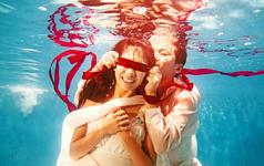 特供唯美水下主题拍摄!动感水下微电影花絮!