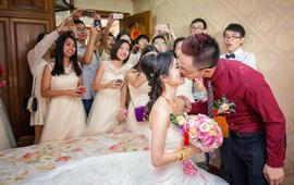 婚礼跟拍-2摄影2摄像1化妆1主持+婚礼布置