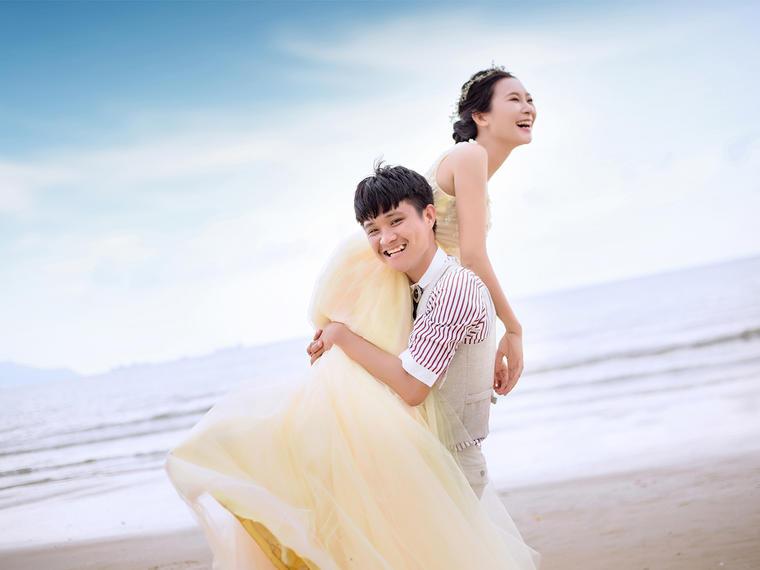 【童话基地+游艇夕阳】总监拍摄+浪漫风婚纱照