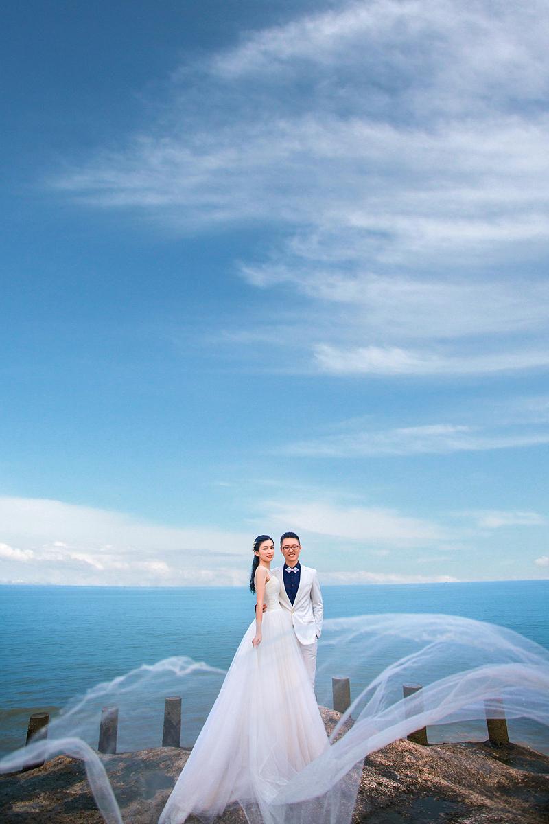 轻奢海景婚纱照