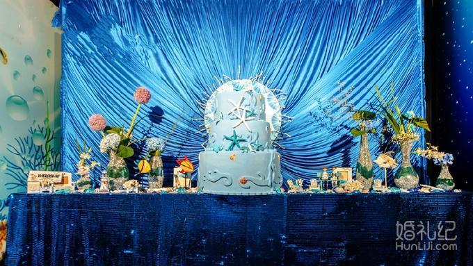 双鱼座酷爱海的童话--【梓塘婚礼】
