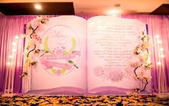 【JK婚礼定制】唯美浅紫色系--爱的誓约。