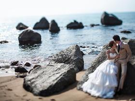 【三亚5A景区天涯海角+礁石+沙滩】总监婚纱摄影