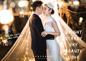 娜美影像-海岛旅拍专家丨浪漫夜景婚纱照