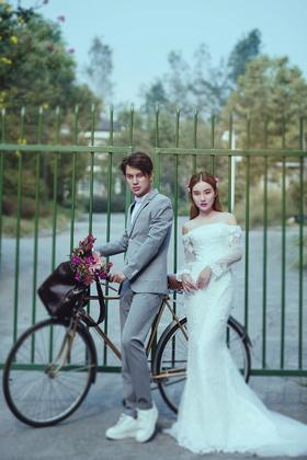 绿野仙踪清新主题婚纱照—独家基地—让心开出花
