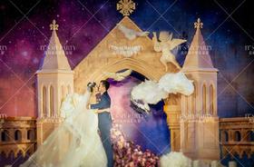 欧式阿维尼翁小镇主题婚礼