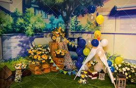 【婚礼气球布置】爱开始的地方