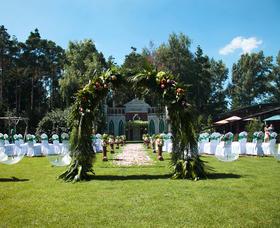 唯美室外草坪婚礼
