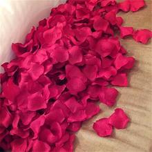 满10包包邮!布置装饰仿真玫瑰花瓣 手抛假花瓣
