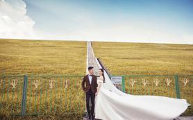 唯美韩式系列婚纱照 湿地公园+玫瑰海岸外景
