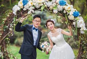 WE微致文化|西子湖四季酒店草坪婚礼