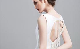 「Pearl」卷珠帘 珍珠缎面拖尾主纱租赁