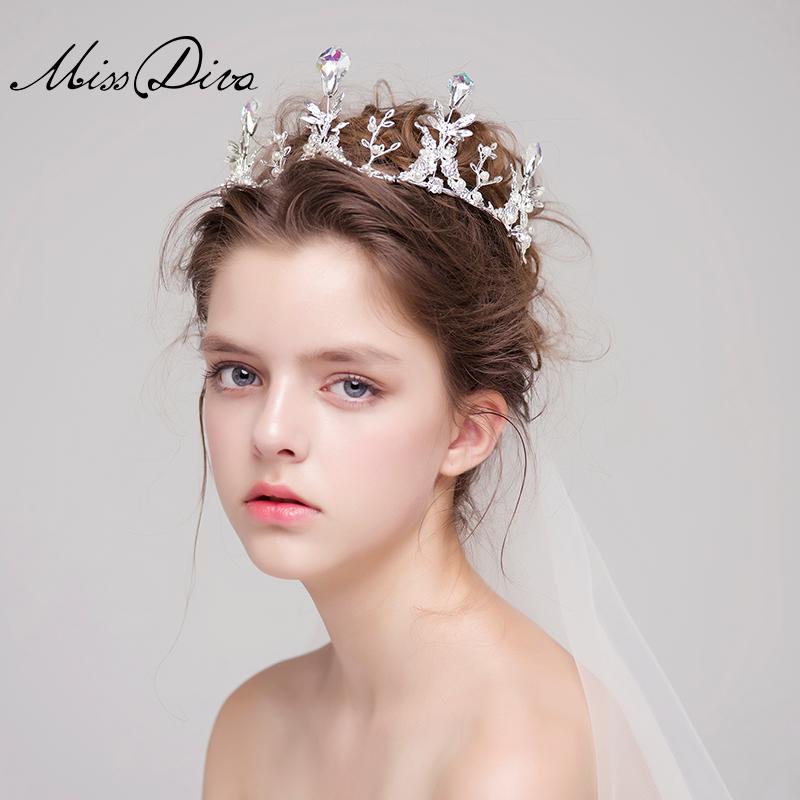 结婚用品 欧式头饰 >韩式公主大皇冠头饰新娘结婚婚礼发饰女王冠配