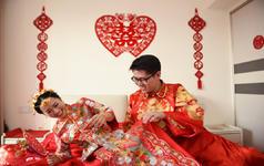 源源造型-新娘客片传统中式造型