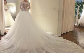【昆凌同款】高定婚纱+出门纱+2件礼服+伴娘服