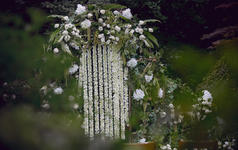 杭州西子湖四季 草坪婚礼加室内晚宴 我把四季来等