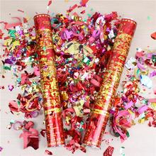婚庆节日庆典用品 结婚婚礼礼花 彩带礼宾花 婚宴道具礼炮