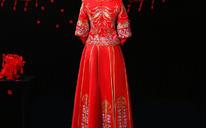 婚纱礼服 新款新娘秀禾服中式结婚礼服敬酒服