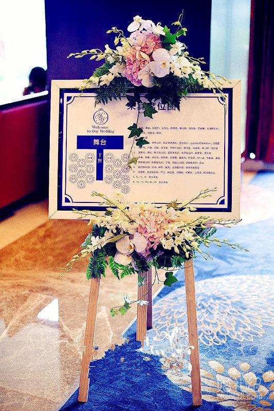 婚礼主题:蓝色星空 婚礼摄影:小万 婚礼摄像:詹彤 化妆造型:千叶 婚礼
