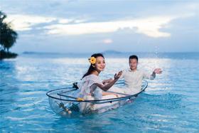 三亚麦田 | 韩式风婚纱客照赏析 | 凤凰岛