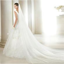 新娘头纱双层3米头纱软纱5米10米婚纱头纱超长拖尾软纱结婚拍