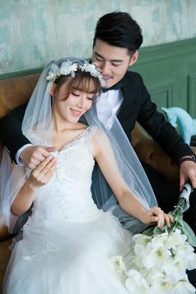 【公主嫁期】内景主题婚纱照