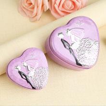 【韩系】新品结婚喜糖盒子婚庆用品糖果包装盒红色心形中国风