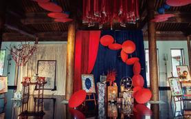 【珍妮罗曼新中式婚礼】---色彩中国