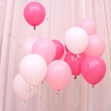 【特价】加厚仿美 结婚气球浪漫粉色玫红系列