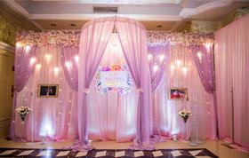 浅色 粉色紫色浪漫婚礼温馨简约时尚 高性价比