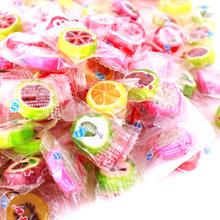 婚礼纪晋利水果切片糖结婚喜糖散装500克