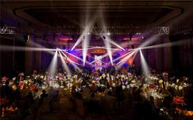 【万达瑞华大酒店】紫色浓情主题婚礼布置