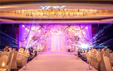 【明珠豪生大酒店】Z&M 婚礼现场鲜花布置