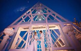 【北纬18度上的爱情圣地】凤凰岭海誓山盟水晶教堂