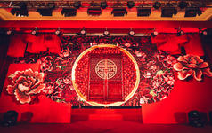 MLILI-《阖欢》中式红色