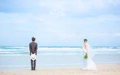 拾光美摄海景游艇马场 包邮包住 预定送婚纱