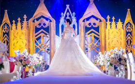 【人气热门】 宝蓝定制城堡婚礼 满分婚礼作品