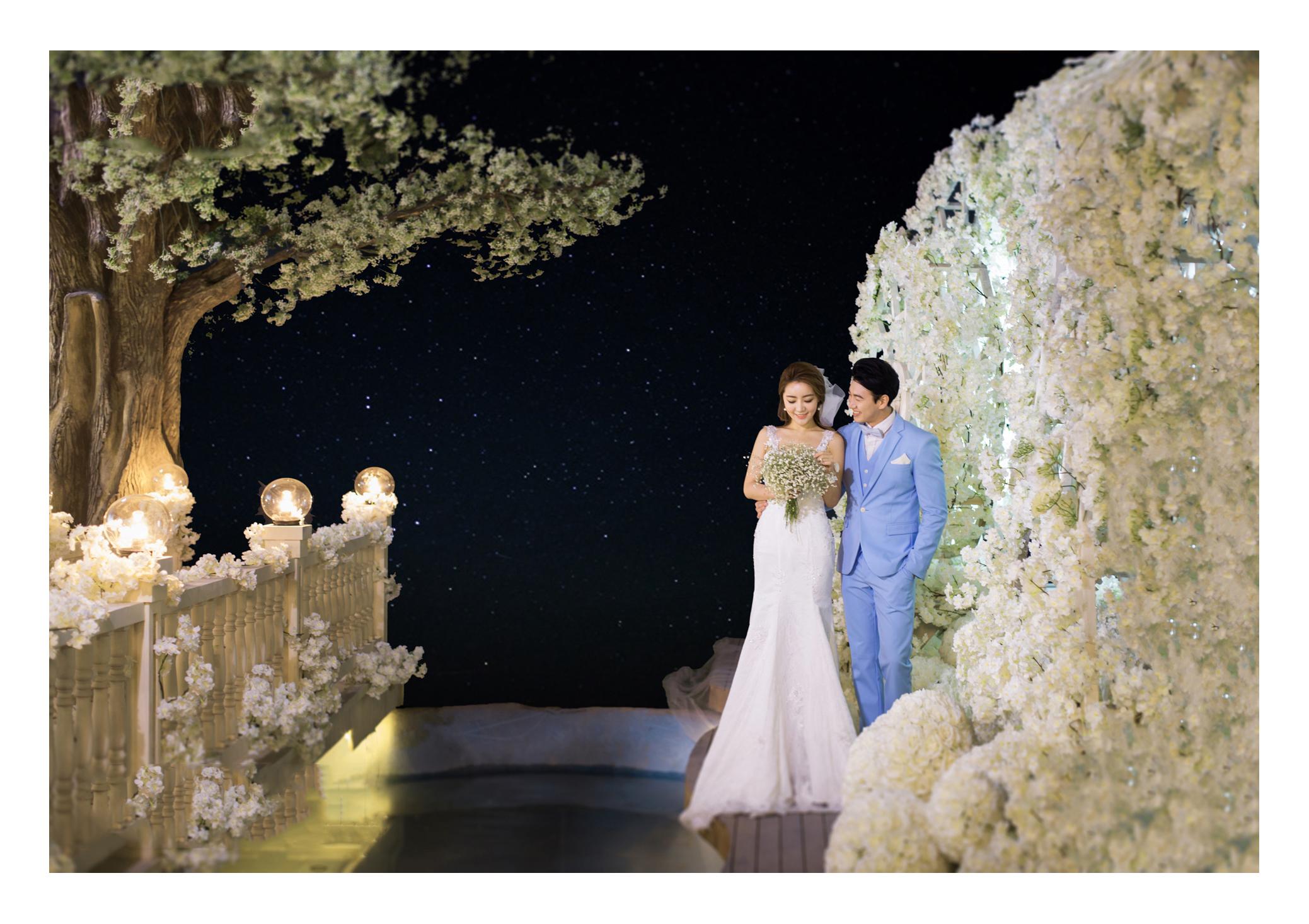 韩式小清新婚纱照